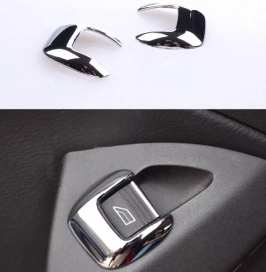 Fensterheber Schalter Blende Rahmen ABS Chrom Passend Für Ford Focus ...